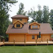 简单现代化木屋