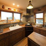 儒雅的温暖厨房