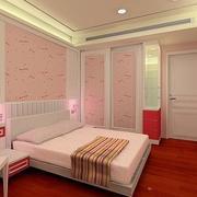 粉色迷人的卧室
