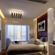 现代时尚的卧室