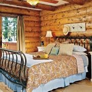 别墅现代田园卧室
