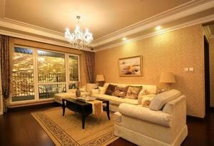 客厅精致的地板