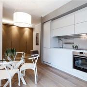 一字型家居厨房装潢