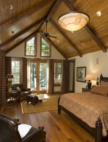 然气息的 时尚木屋别墅 室内装修效果图 大