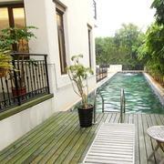 清新别墅游泳池