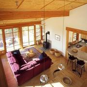 别墅客厅俯视图