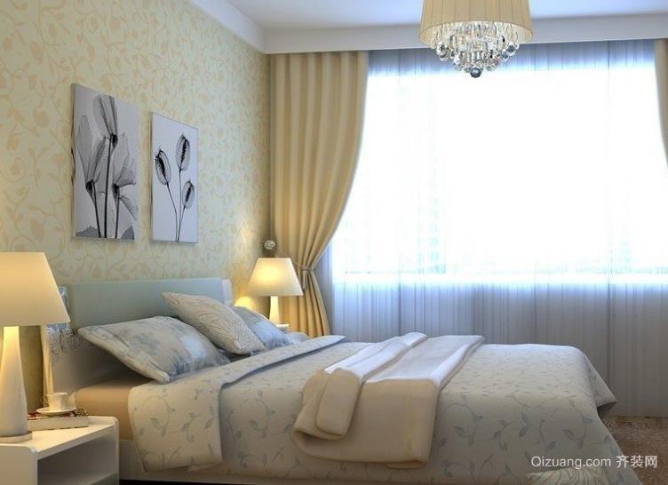 白领女强人简约家庭卧室装饰装修效果图