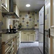 精致原木色厨房