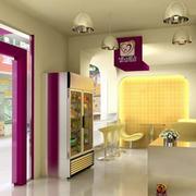 梦幻紫色的蛋糕店