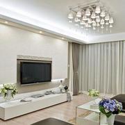 现代客厅硅藻泥