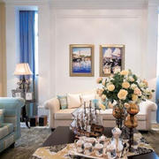 地中海客厅空间欣赏