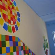 幼儿园马赛克墙面