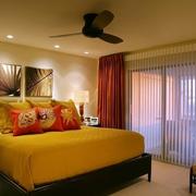 温暖美式卧室欣赏