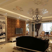 客厅温馨背景墙