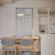 餐厅实木餐桌椅