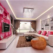 优美时尚的客厅吊顶