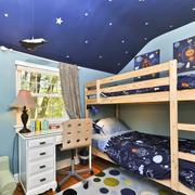 简约实木儿童床