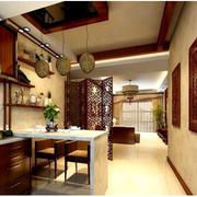 厨房瓷砖吧台展示
