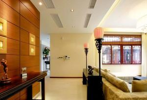 90平米舒适温馨的大户型走廊吊顶装修效果图鉴赏