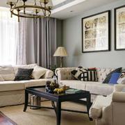 客厅沙发装饰画欣赏