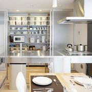 开放式家居厨房