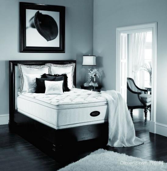 精美各样三室两厅两卫卧室席梦思装修效果图