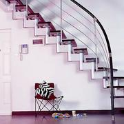 铁艺旋转阁楼楼梯