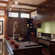 前卫舒适的厨房