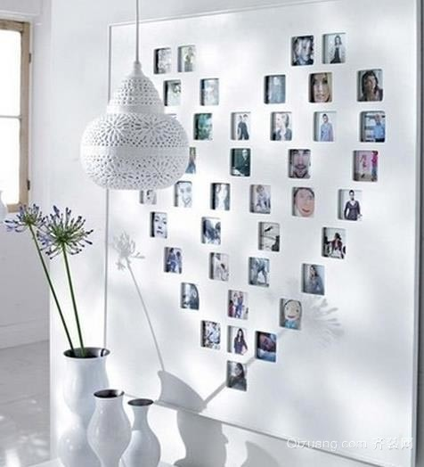 95平米独具匠心小户型照片墙装修设计效果图