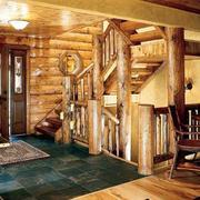 别墅实木楼梯欣赏