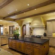 厨房美式吧台展示