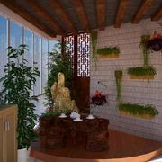 花园盆景展示
