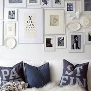 趣味小户型照片墙