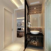 精致现代化洗手间