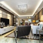 现代豪华客厅瓷砖展示
