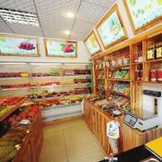高大上精品水果店展示