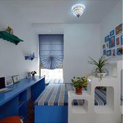地中海书房鞋柜设计