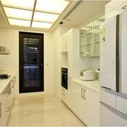 现代简约白色厨房