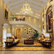 复式楼别墅客厅欣赏