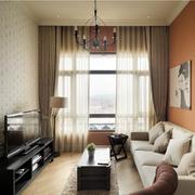 小户型公寓窗帘展示
