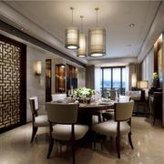 中式家装餐厅展示