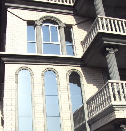 房家庭 阳台 护栏小型 罗马柱 装修 效果图