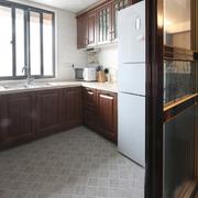厨房干净地板图片