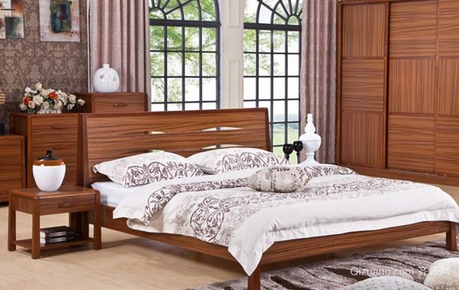富有田园气息的乡村风格卧室背景墙装修效果图欣赏