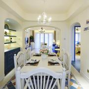 白色清爽餐厅设计