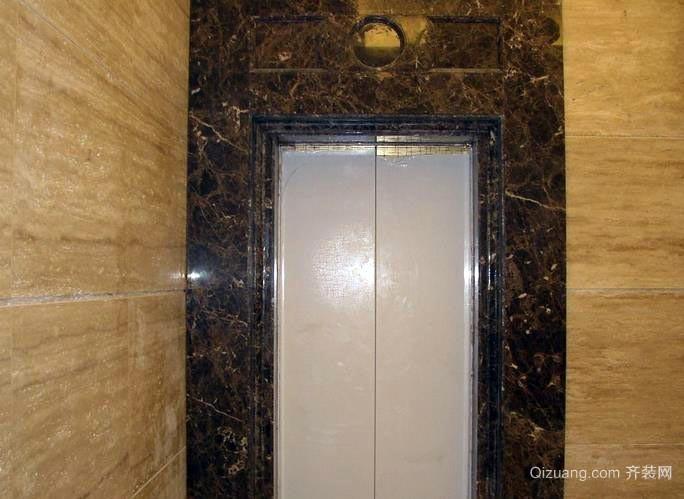 高级商务酒店安全电梯门装修效果图
