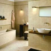 现代家居卫生间地板
