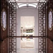 中式风格酒店电梯