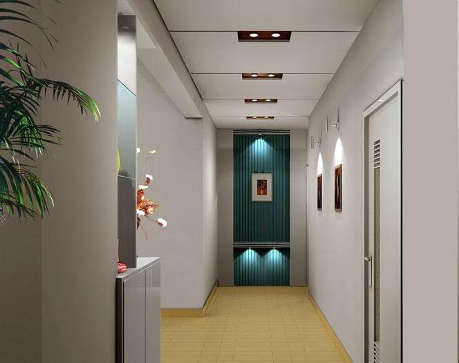 015 欧式 入户 走廊吊顶装修 效果图 齐装网装修