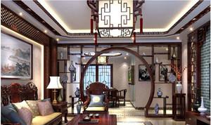 中式客厅吊顶吊灯